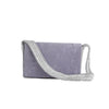 Signature shoulder bag-lavender/silver-designed by alexandra koumba