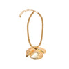 Sea mermaid necklace gold plated Design by Alexandra koumba