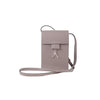 WB Mini cross bag - taupe/silver- Designed by alexandra koumba