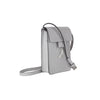 WB Mini cross bag - light grey/silver- Designed by alexandra koumba