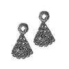 Morgana Earrings in Lace Crochet - Alexandra Koumba Designs