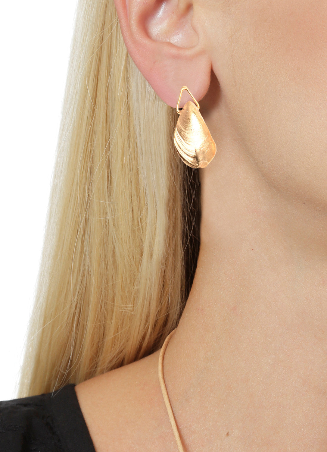 Mussel Earrings Design by Alexandra Koumba