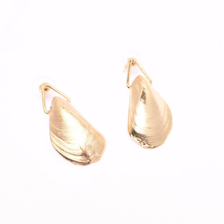 Mussel Earrings - Alexandra Koumba Designs