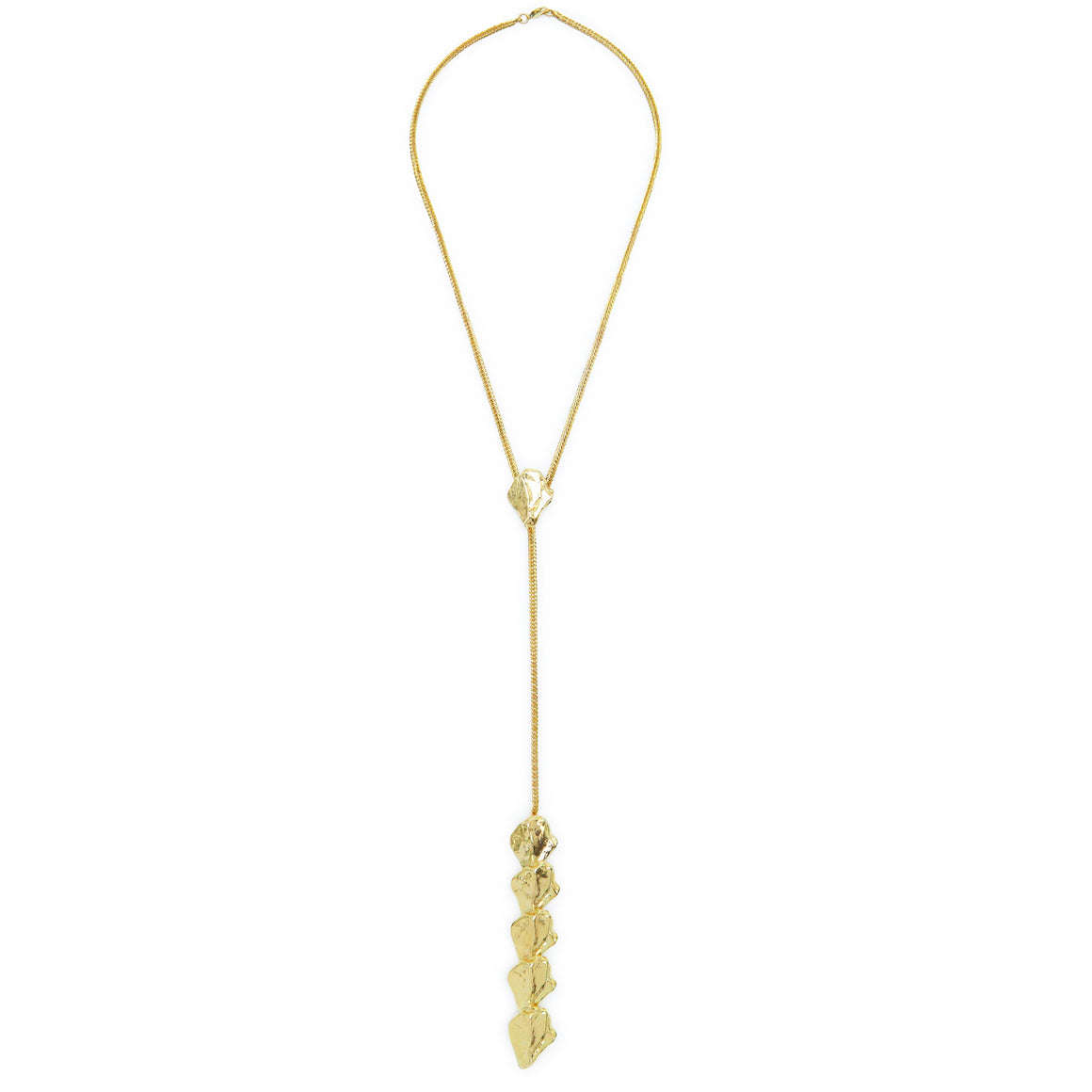 spine necklace-gold-designed by alexandra koumbva