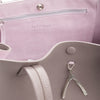 WB Shop Bag-Taupe/pink/silver-designed by alexandra koumba