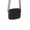 weaved chain bag-black/silver-designed by alex