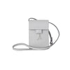 WB Mini cross bag - ice white/silver- Designed by alexandra koumba