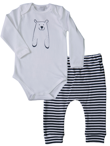 Pant/Onesie Set Navy Bears