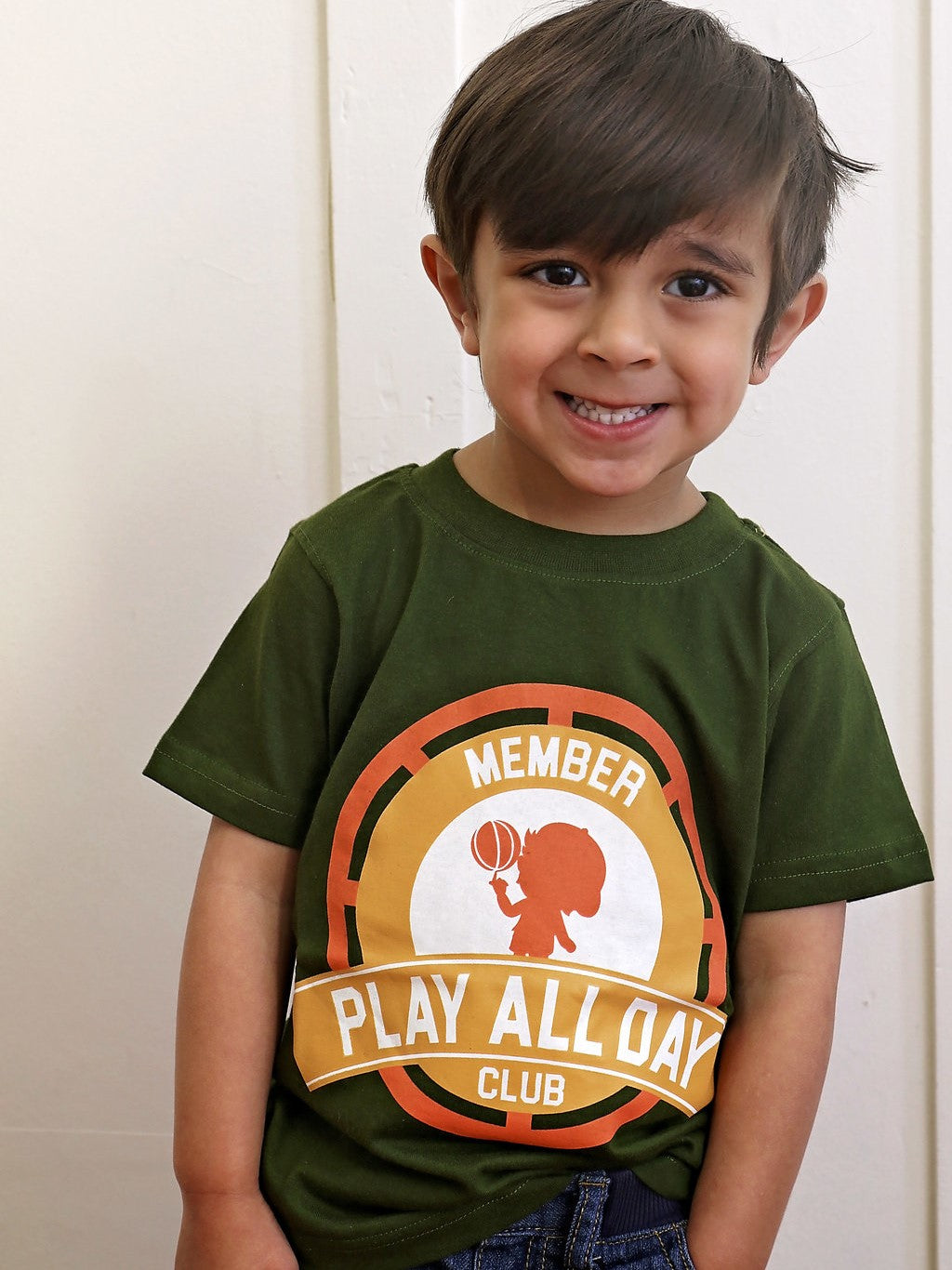Play All Day Club  Boys Member Tee