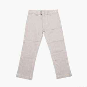 Milou Boys Grey Cotton/Elastan Trousers