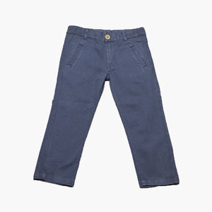 Milou Boys Navy Cotton Woven Trousers