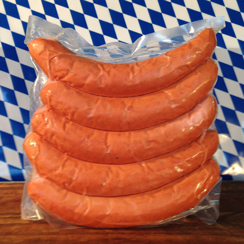 Medium Smoked Bratwurst (Bockwurst) (Pack of 5)