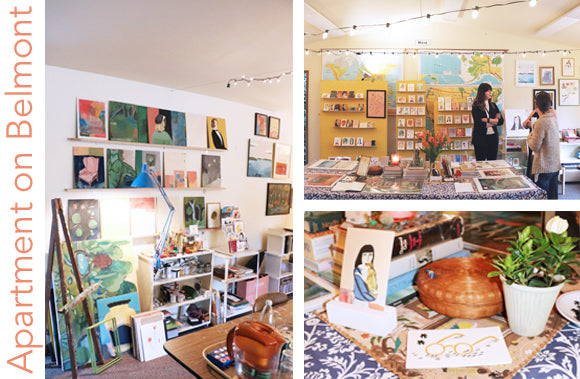 Fresh-Tangerine-Visits-Apartment-On-Belmont-Studio