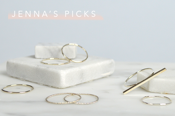 jenna boron ring picks | Fresh Tangerine
