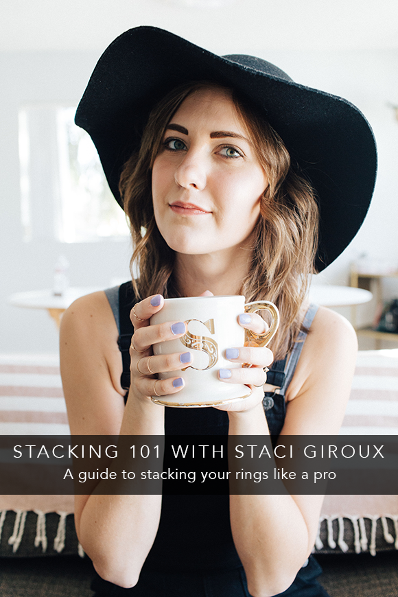 stacking 101 with staci giroux | Fresh Tangerine Behind the Brand Blog