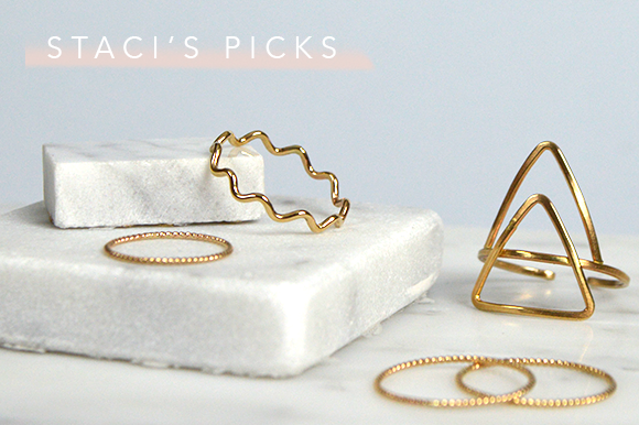 staci giroux stacking 101 ring picks | fresh tangerine behind the brand blog