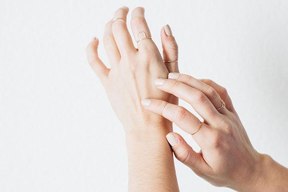 stacking 101 with the moptop | styled arc ring | Fresh Tangerine blog