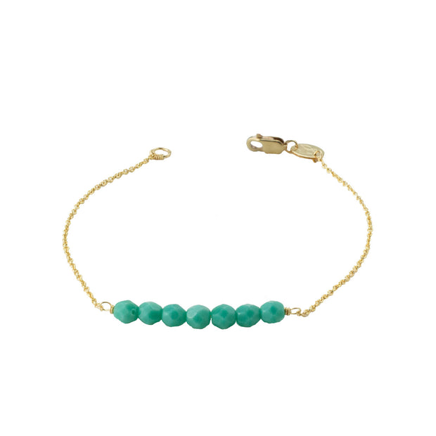 Friendship Bracelet - Seafoam