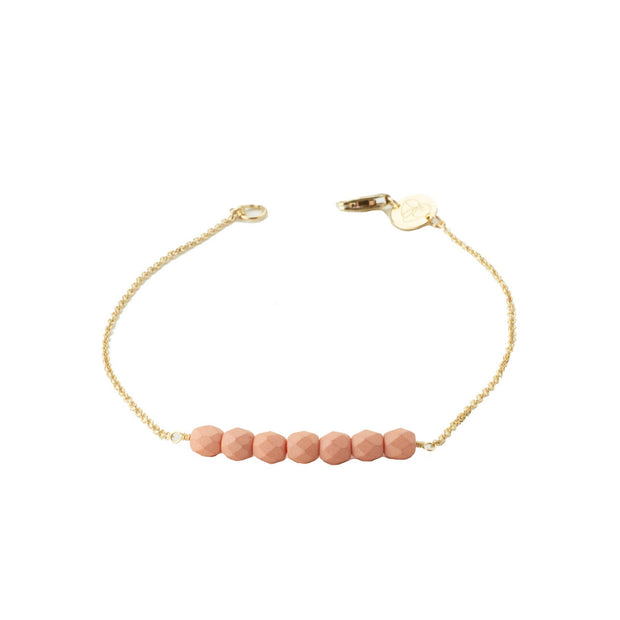 Friendship Bracelet - Dusty Rose