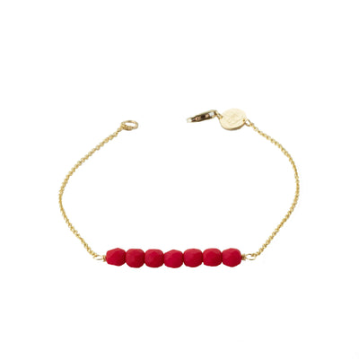 Friendship Bracelet - Pomegranate