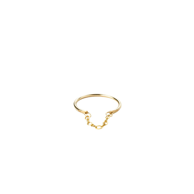 Apollo Ring in 14k gold fill | Fresh Tangerine