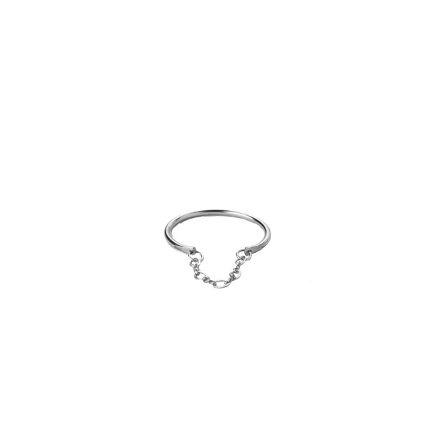 Apollo Ring in sterling silver | Fresh Tangerine