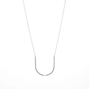 Arc Necklace in sterling silver | Fresh Tangerine
