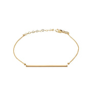 Bar Bracelet in 14k gold fill | Fresh Tangerine