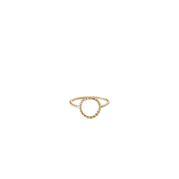 Callisto Ring in 14k gold fill | Fresh Tangerine