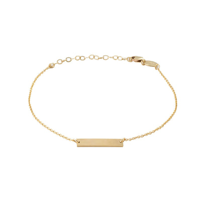 Chou Bracelet in 14k gold fill | Fresh Tangerine