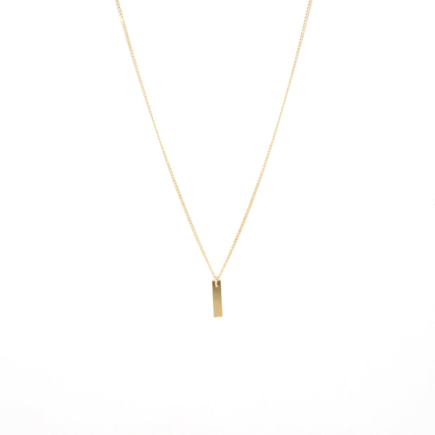 Chou Necklace in 14k gold fill | Fresh Tangerine