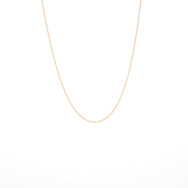 Classic Necklace Chain in 14k gold fill | Fresh Tangerine