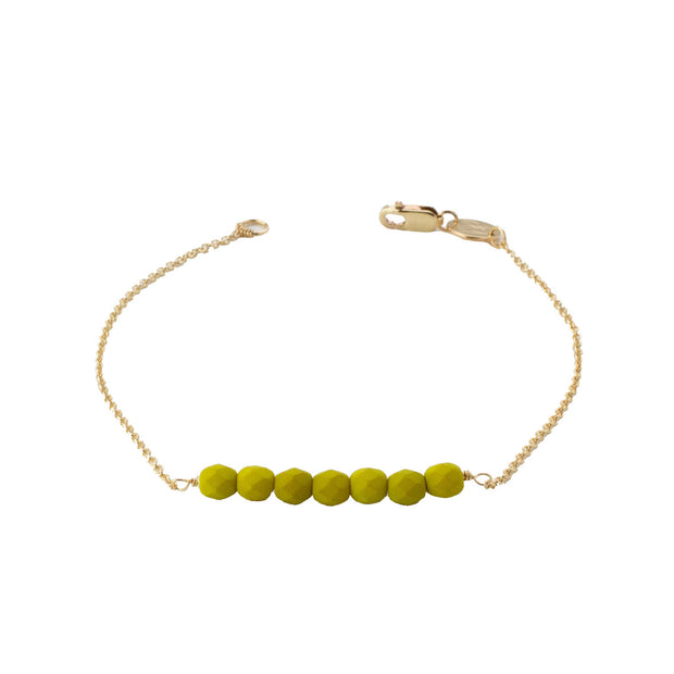 Friendship Bracelet - Split Pea