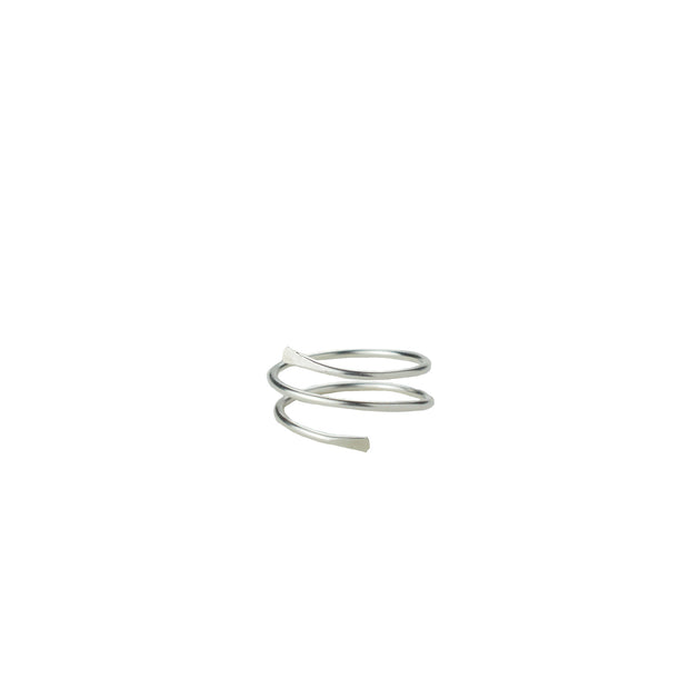 Helix Ring in sterling silver | Fresh Tangerine