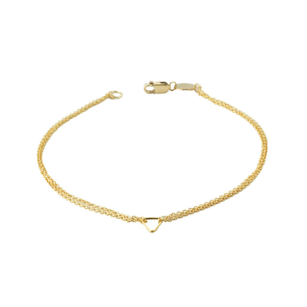 Iso Bracelet in 14k gold fill | Fresh Tangerine
