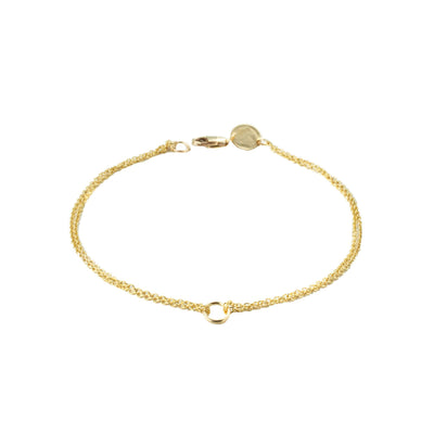 Krikos Bracelet in 14k gold fill | Fresh Tangerine