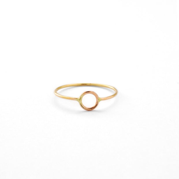 Krikos Ring in 14k gold fill | Fresh Tangerine
