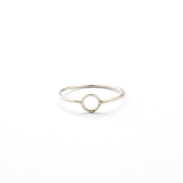 Krikos Ring in sterling silver | Fresh Tangerine
