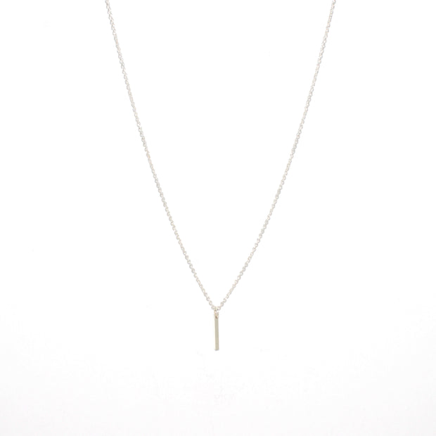 Linea Necklace in sterling silver| Fresh Tangerine