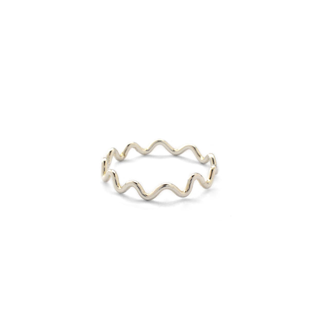Meandering Ring in sterling silver | Fresh Tangerine
