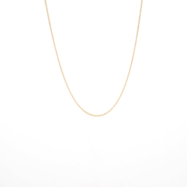 Nouveau Necklace Chain in 14k gold fill | Fresh Tangerine