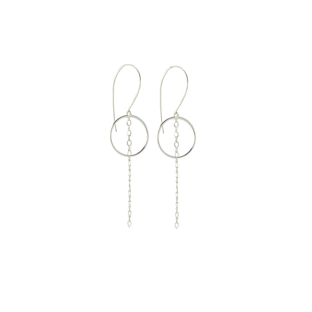 Nova Earring in sterling silver | Fresh Tangerine