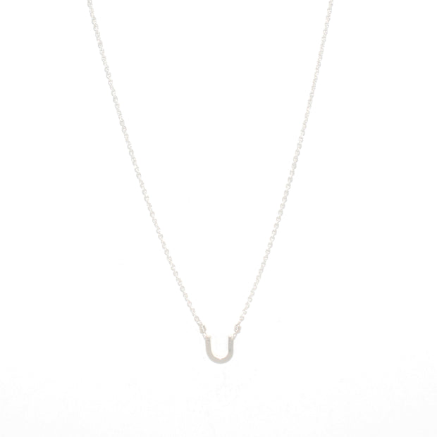 Petalo Necklace in sterling silver | Fresh Tangerine