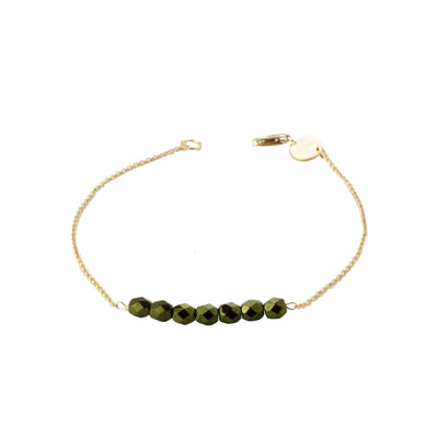 Friendship Bracelet - Forest Green