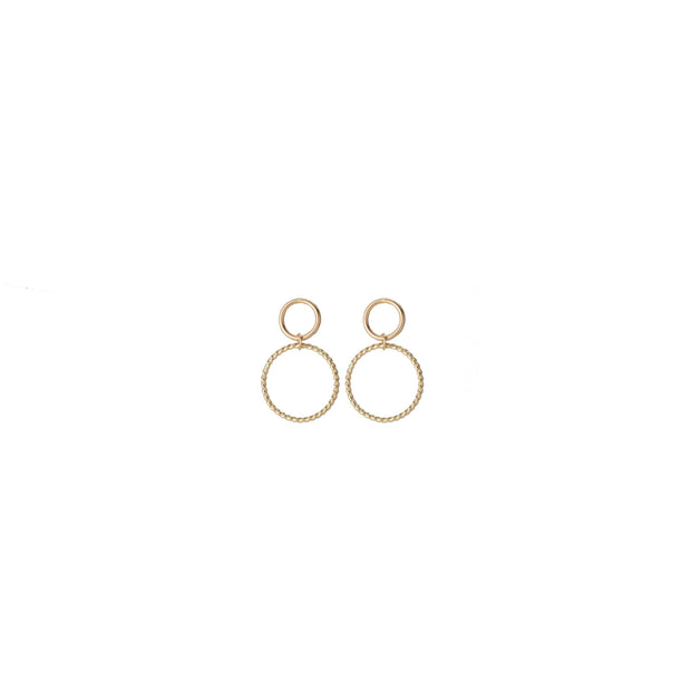 Selene Earring in 14k gold fill | Fresh Tangerine