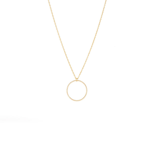 Selene Necklace in 14k gold fill | Fresh Tangerine