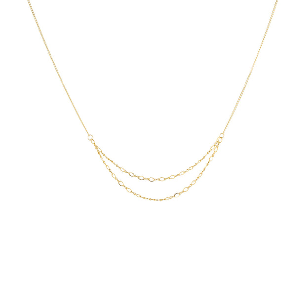 Stardust Necklace in 14k gold fill | Fresh Tangerine