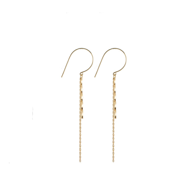 Stella Earring in 14k gold fill | Fresh Tangerine