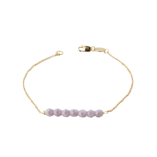 Friendship Bracelet - Lavender
