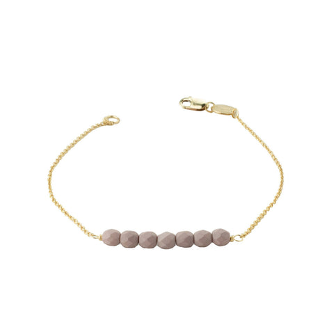 Friendship Bracelet - Dusty Mauve